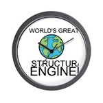 Worlds Greatest Structural Engineer Wall Clock