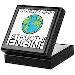 Worlds Greatest Structural Engineer Keepsake Box