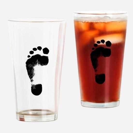 footprint 5 Drinking Glass