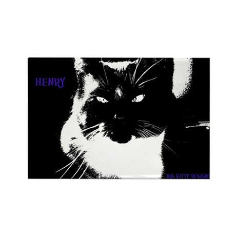 Henry the big kitty! (Purple font)