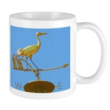 Crane Weather vane Mug