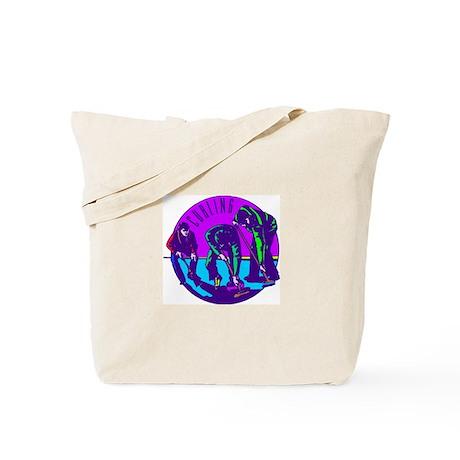 """""""Curling"""" Tote Bag"""