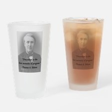 Edison - Discontent Drinking Glass