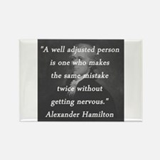 Hamilton - Well Adjusted Person Magnets