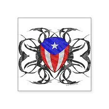 Puerto Rico Tribal Oval Sticker