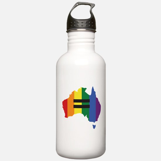 LGBT equality Australi Water Bottle