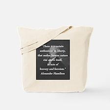 Hamilton - Certain Enthusiasm Tote Bag