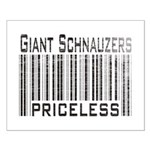 Giant Schnauzers Small Poster