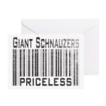 Giant Schnauzers Greeting Cards (Pk of 10)