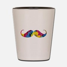 Flower moustache Shot Glass