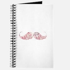 FLower moustache Journal