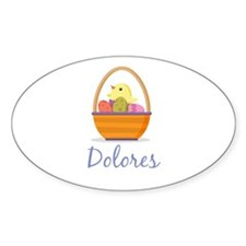 Easter Basket Dolores Decal
