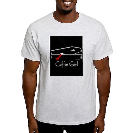 COFFIN GIRL Ash Grey T-Shirt