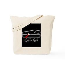 COFFIN GIRL Tote Bag