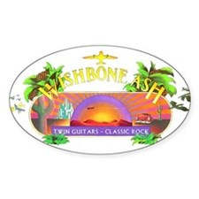 Wishbone Ash Oval Decal