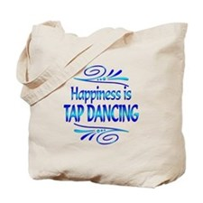 Happiness is Tap Dancing Tote Bag