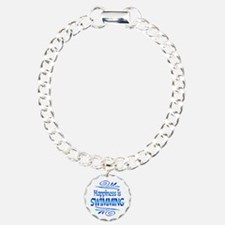 Happiness is Swimming Bracelet