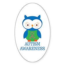 Autism Awareness Owl Decal