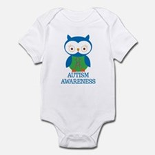 Autism Awareness Owl Infant Bodysuit