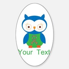 Personalized Autism Owl Decal