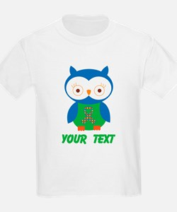 Personalized Autism Owl T-Shirt
