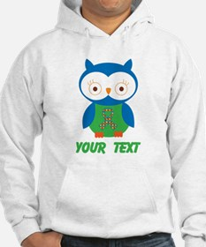 Personalized Autism Owl Hoodie