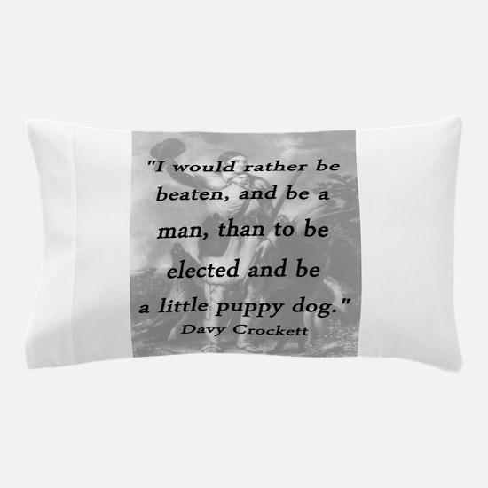 Crockett - Little Puppy Dog Pillow Case