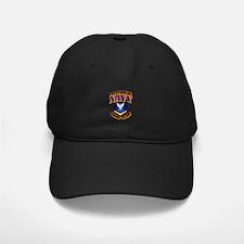 NAVY - PO3 - Gold Baseball Hat