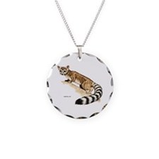 Ringtail Wild Cat Necklace