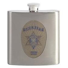 Jefferson Parish Sheriff Flask