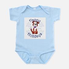 Oak's Border Collie Snowflake Infant Bodysuit