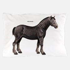 Percheron Horse Pillow Case
