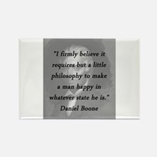 Boone - Philosophy Magnets