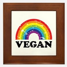 Vegan Rainbow Framed Tile