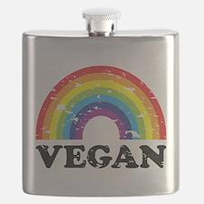 Vegan Rainbow Flask