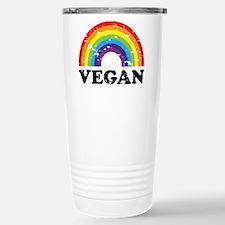 Vegan Rainbow Travel Mug