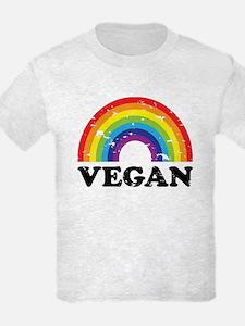 Vegan Rainbow T-Shirt