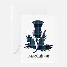 Thistle - MacCallum Greeting Card