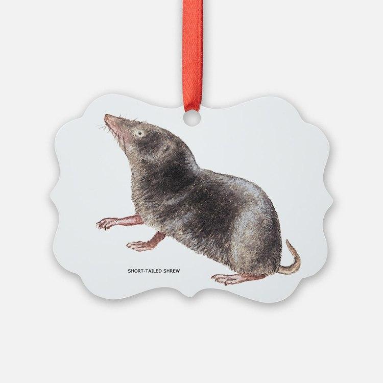 Short-Tailed Shrew Ornament
