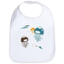 Cute Jellyfish - Baby Bib