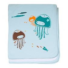 Cute Jellyfish - Baby Blanket