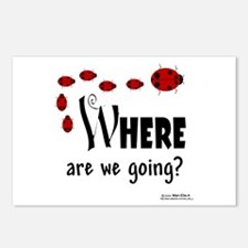 Where Are We Going? Postcards (Package of 8)