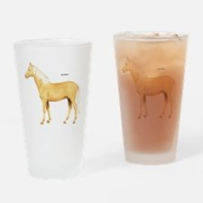 Palomino Horse Drinking Glass