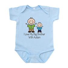 Autism Big Brother Infant Bodysuit
