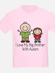 Autism I Love Big Brother T-Shirt
