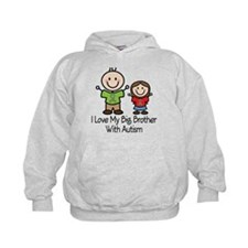 Autism I Love Big Brother Hoodie