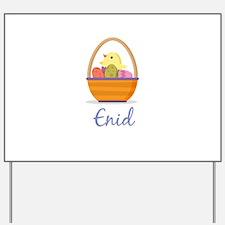Easter Basket Enid Yard Sign