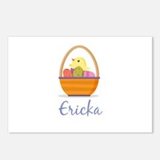 Easter Basket Ericka Postcards (Package of 8)