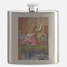 Alice Through the Looking Glass Flask