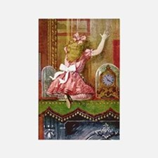 Alice Through the Looking Glass Rectangle Magnet